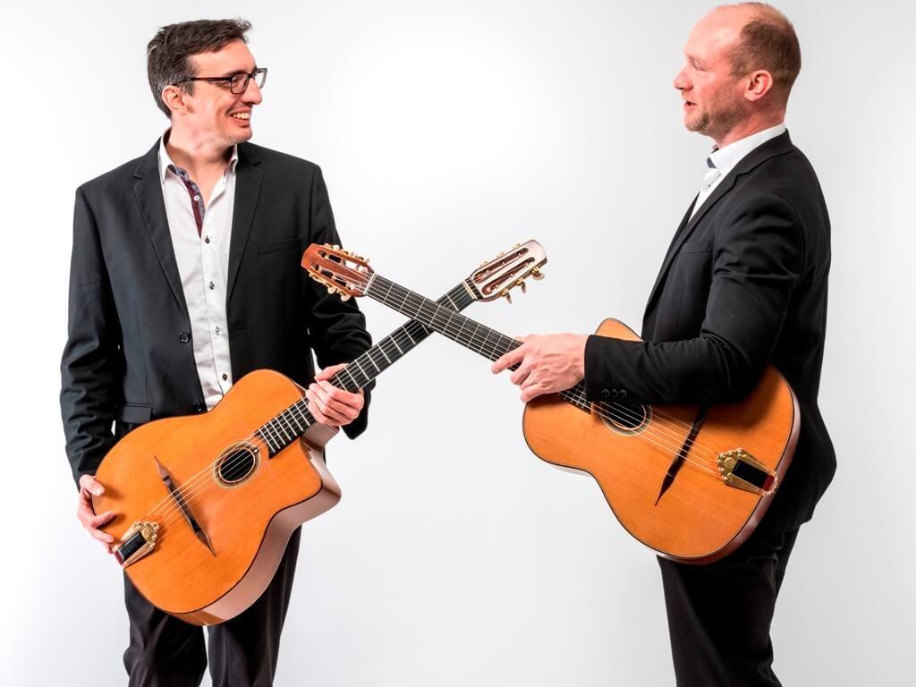 Duo jazz manouche à Lille