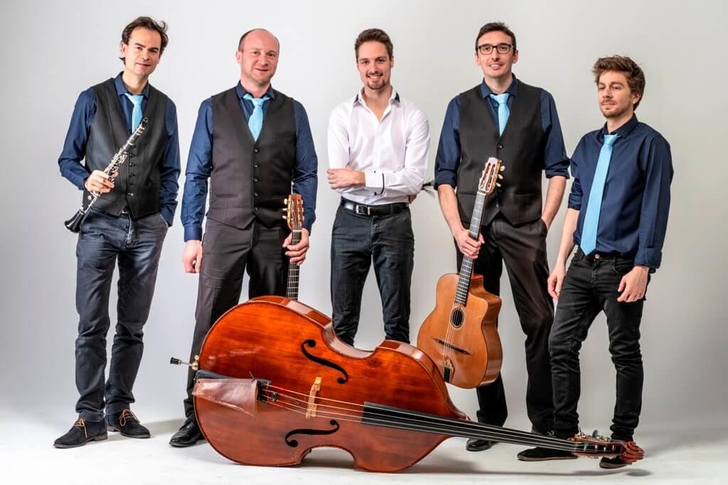 Groupe de jazz manouche pour mariage Lille