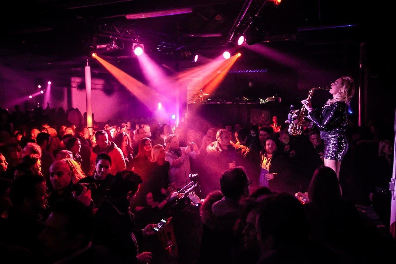 dj sax live deep house