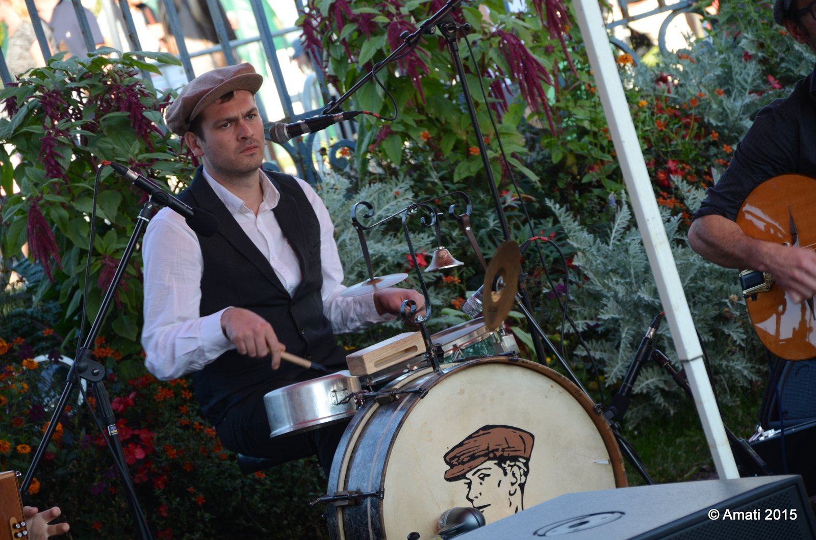 percussionniste musette bal