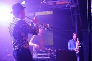 trompettiste Live avec Dj