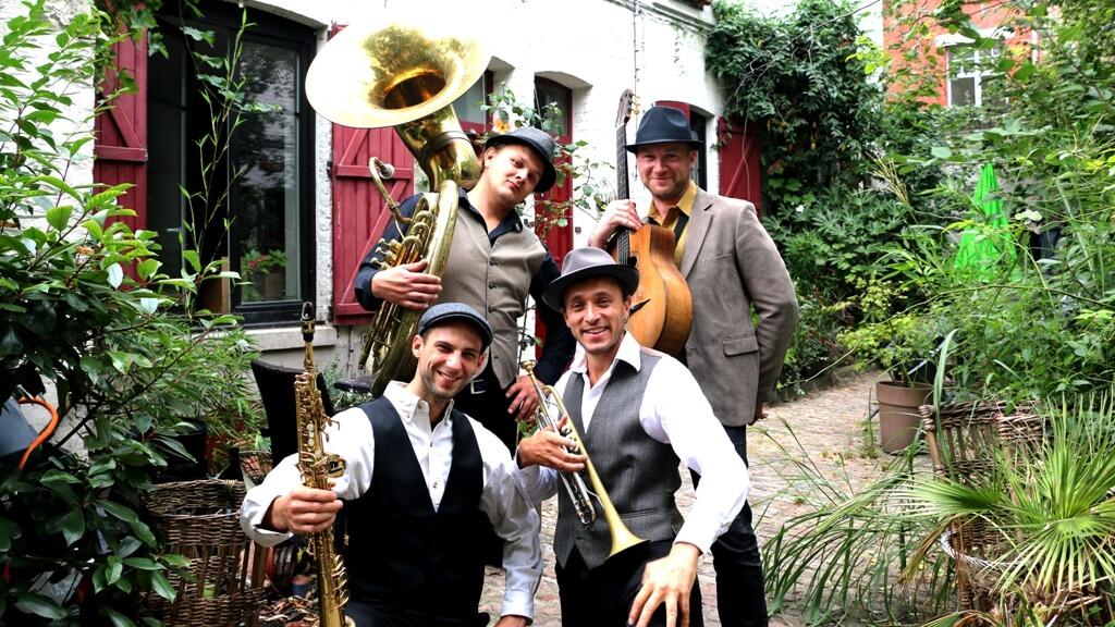 fanfare Dixie à Lille