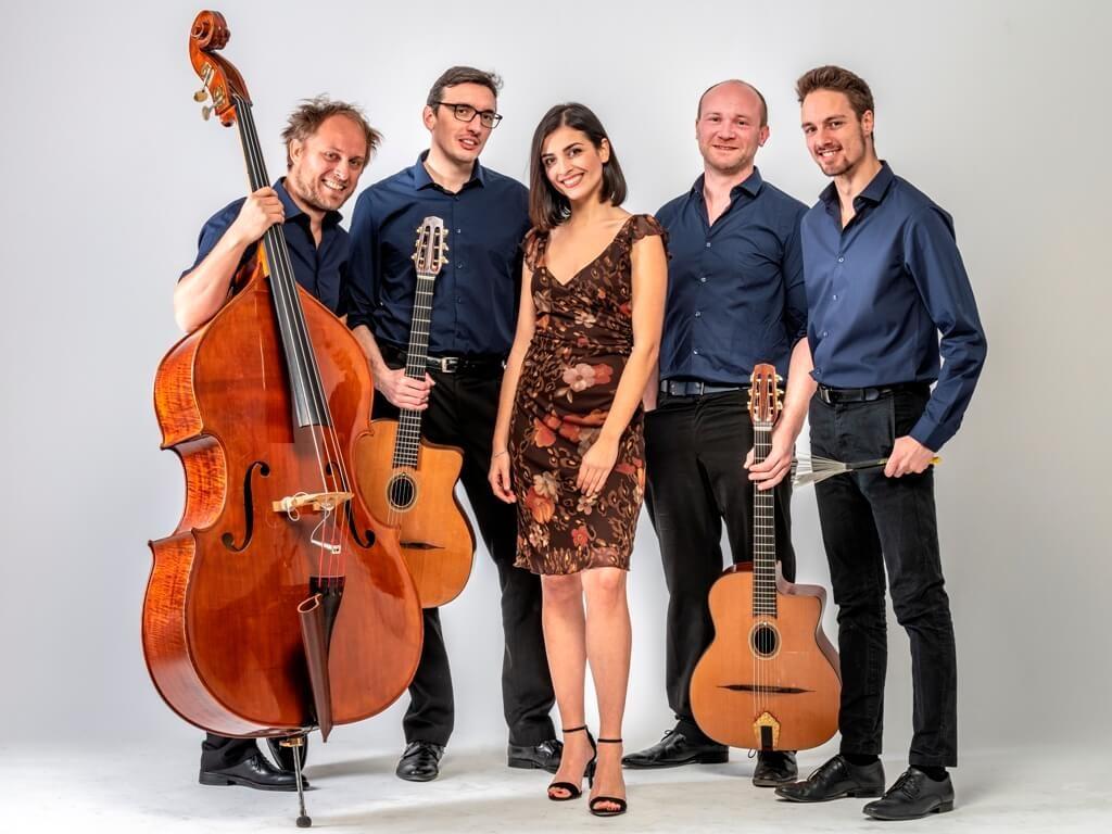 Groupe de jazz manouche Lille