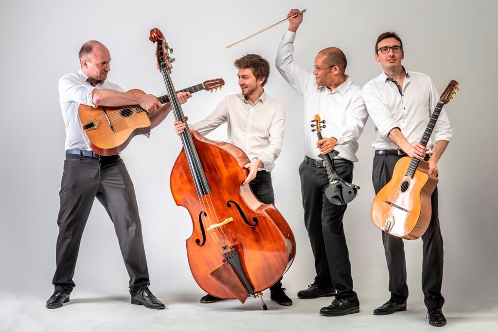 groupe jazz manouche avec violoniste lille