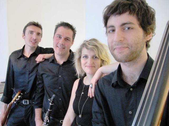 Quartet de jazz concert