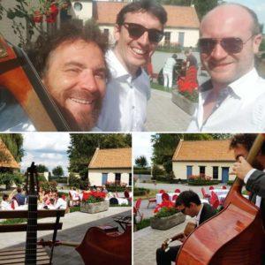 trio jazz manouche mariage la Cense de Rigaux