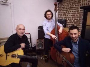Trio jazz manouche Belgique