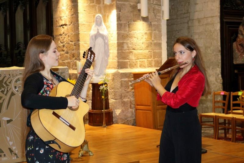 duo musique classique concert Nord