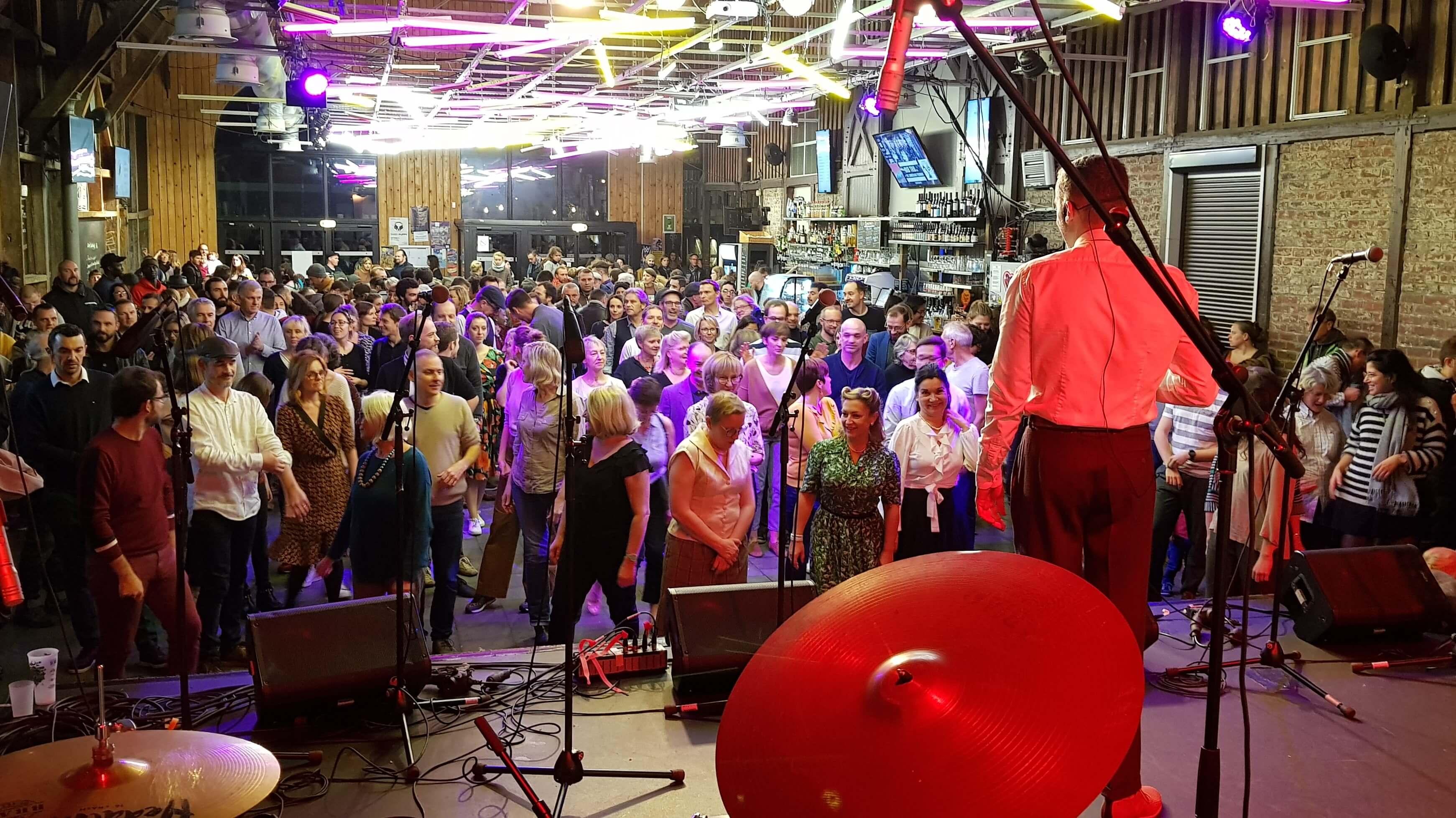 initiation jazz roots danse swing à lille gare saint sauveur pour evenement soirée années folles team building entreprise haust de france