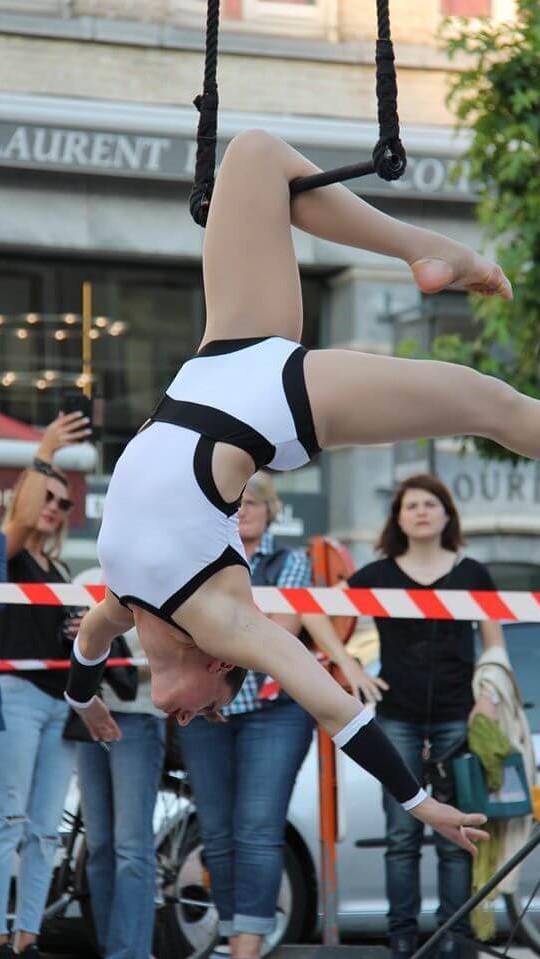 numéro spectacle trapeze solo lille nord de france pour mariage et anniversaire