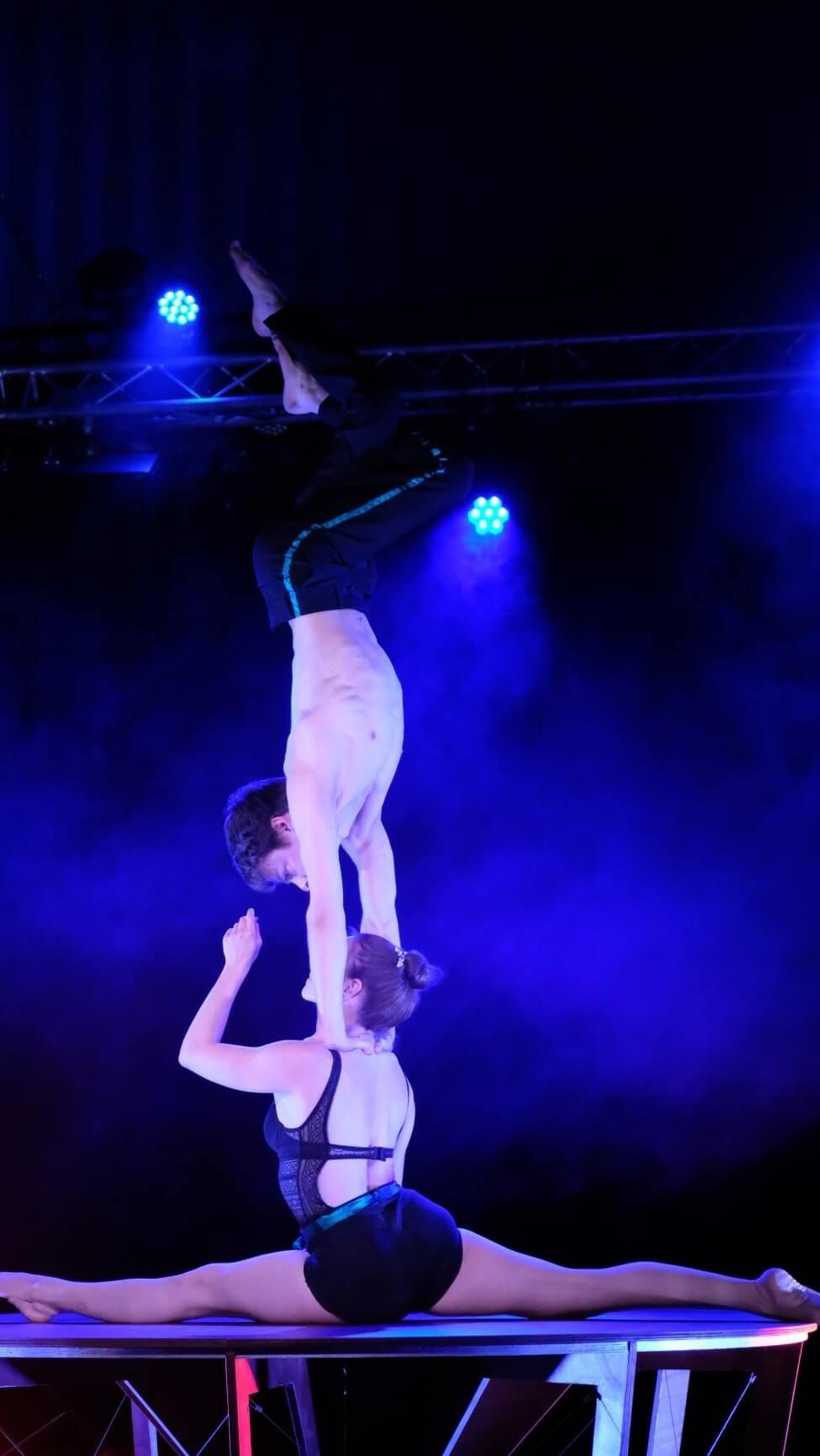 Duo cirque porté Ile de France ce entreprise Paris