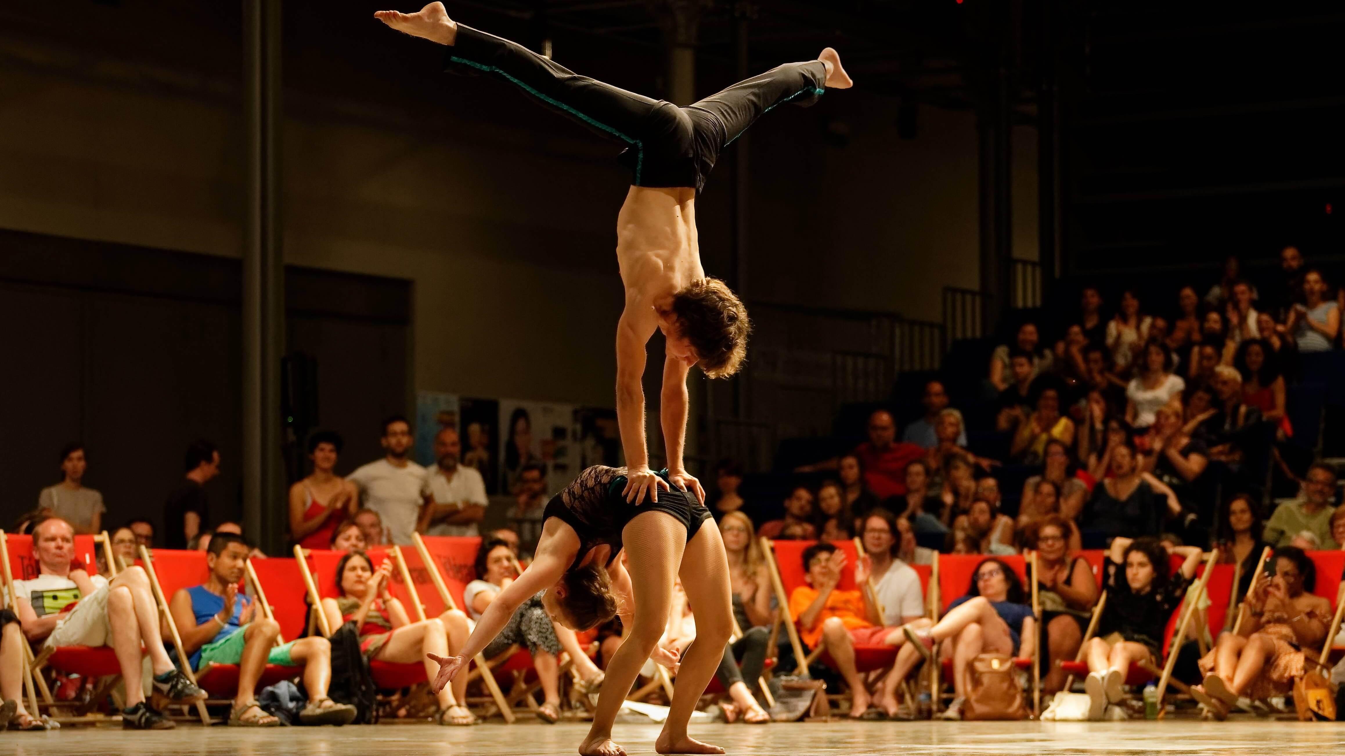 spectacle duo cirque porté paris ile de france