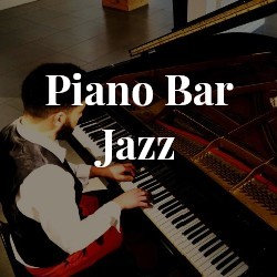 Piano bar solo jazz