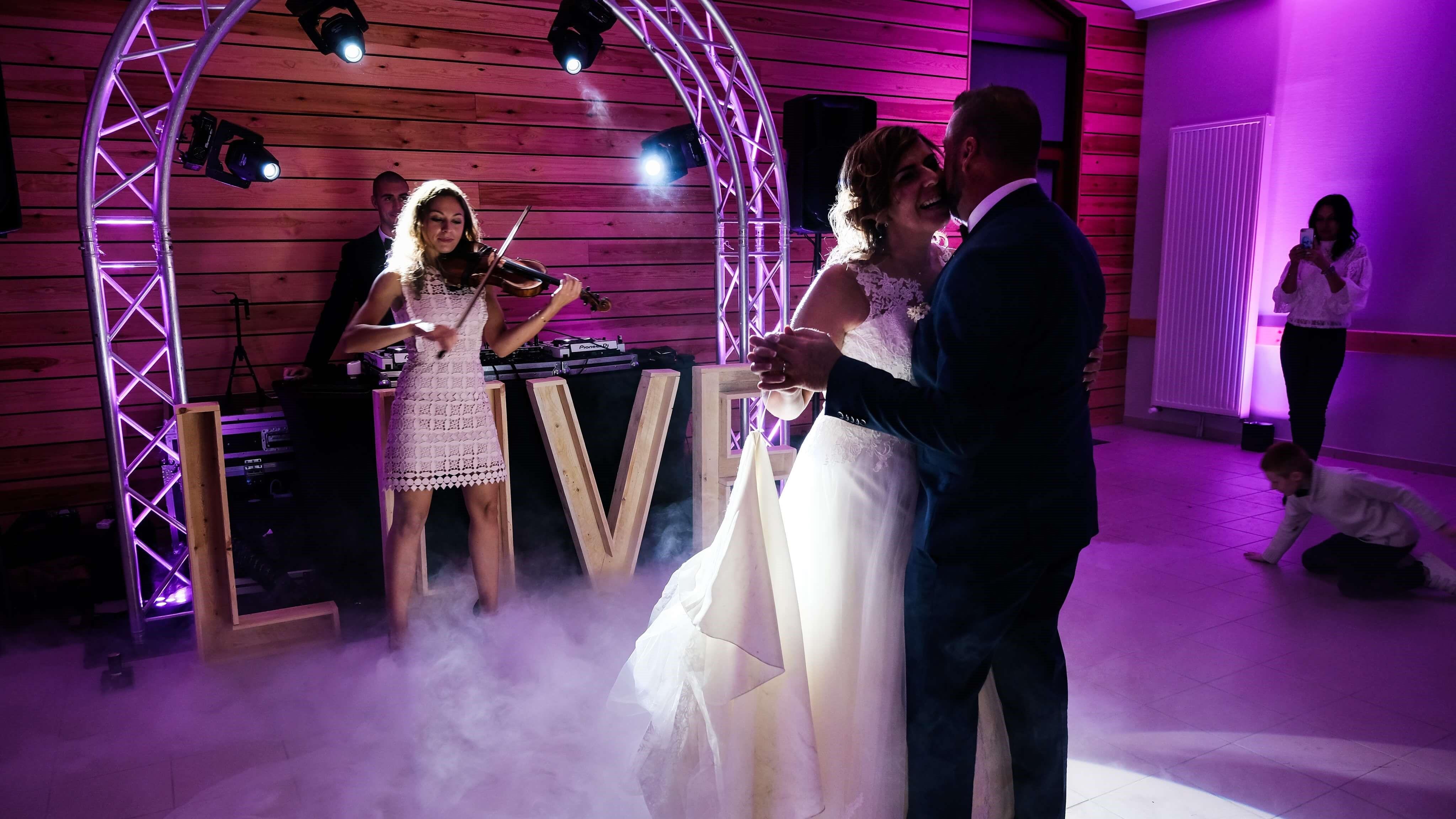 mariage musique ouverture de bal avec artistes live hauts de france Douai