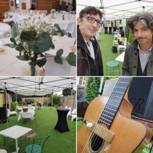 Duo jazz manouche Nord pour mariage
