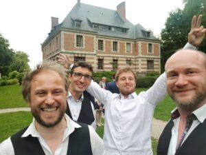 Quartet jazz manouche Lille Mariage Jlb prod