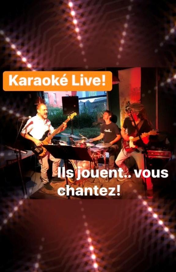 groupe live karaoké Paris