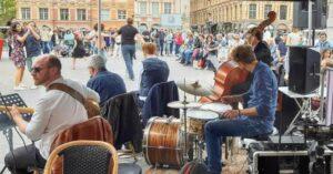 Quintet de jazz grand place Lille